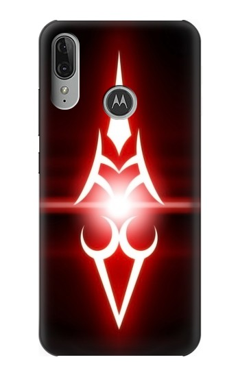 Printed Fate Stay Night Saber Command Spells Motorola Moto E6 Plus Case