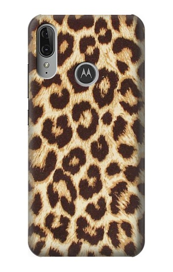 Printed Leopard Pattern Graphic Printed Motorola Moto E6 Plus Case