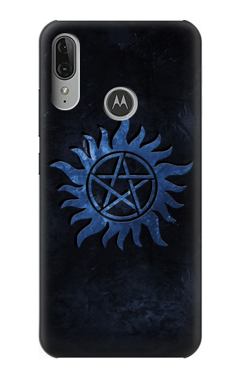 Printed Supernatural Anti Possession Symbol Motorola Moto E6 Plus Case