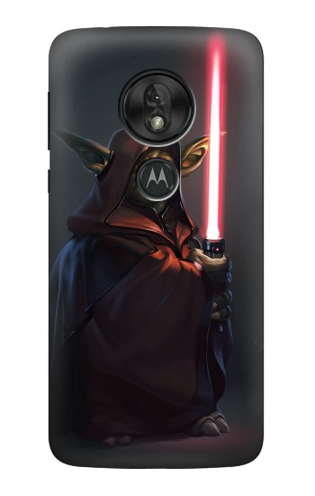Printed Darth Yoda Motorola Moto G7 Play Case