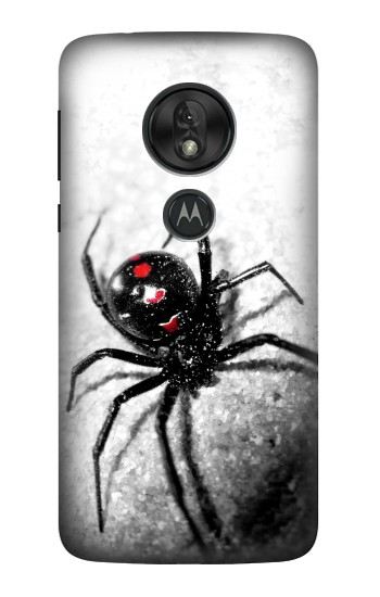 Printed Black Widow Spider Motorola Moto G7 Play Case