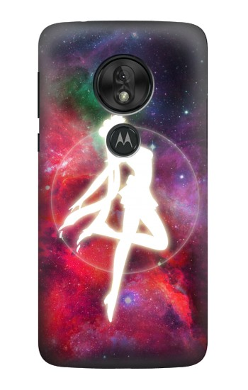 Printed Sailor Moon Nebula Transform Motorola Moto G7 Play Case