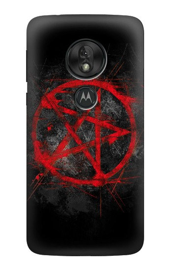 Printed Pentagram Motorola Moto G7 Play Case