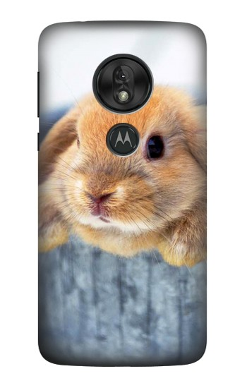 Printed Cute Rabbit Motorola Moto G7 Power Case