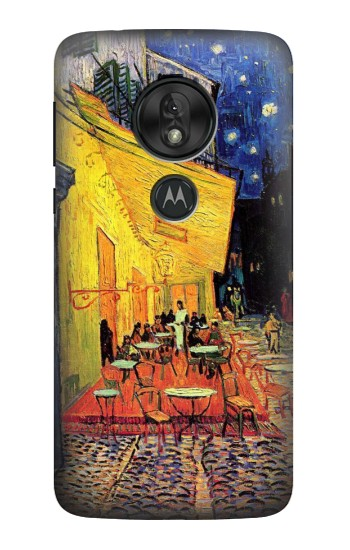Printed Van Gogh Cafe Terrace Motorola Moto G7 Power Case