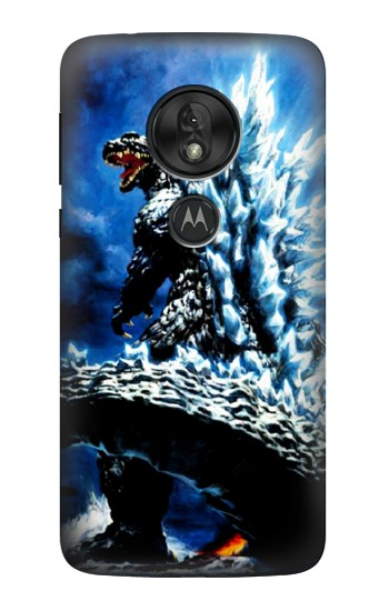 Printed Godzilla Giant Monster Motorola Moto G7 Power Case