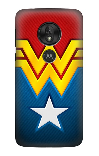 Printed Wonder Women Logo Motorola Moto G7 Power Case