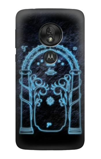 Printed Lord of The Rings Mines of Moria Gate Motorola Moto G7 Power Case