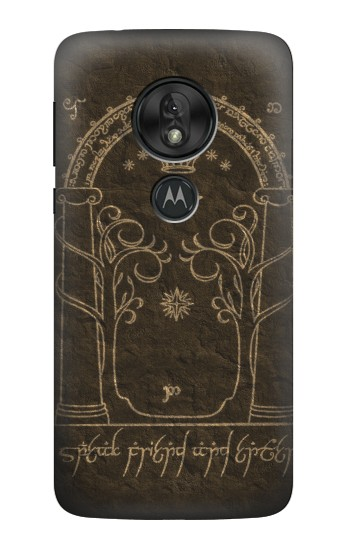 Printed Durin Door The Lord of The Rings Motorola Moto G7 Power Case