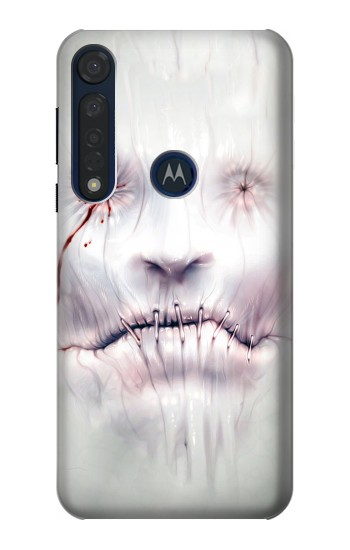 Printed Horror Face Motorola Moto G8 Plus Case