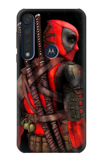 Printed Deadpool 2 Motorola Moto G8 Plus Case
