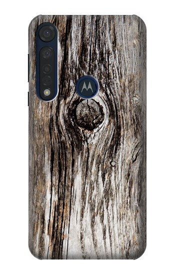 Printed Old Wood Bark Printed Motorola Moto G8 Plus Case