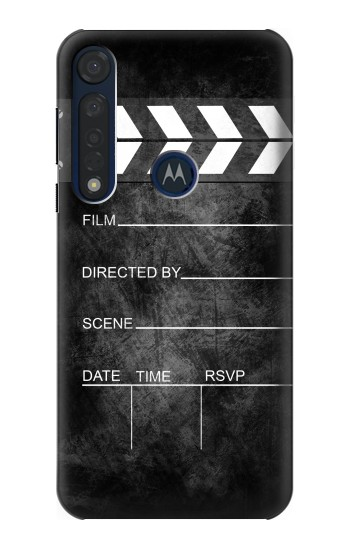 Printed Vintage Director Clapboard Motorola Moto G8 Plus Case