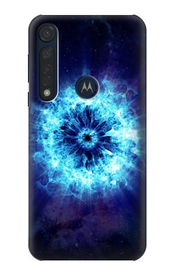 Printed Shockwave Explosion Motorola Moto G8 Plus Case