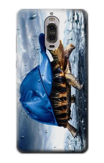 Printed Turtle in the Rain Huawei Ascend P6 Case