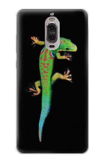 Printed Green Madagascan Gecko Huawei Ascend P6 Case
