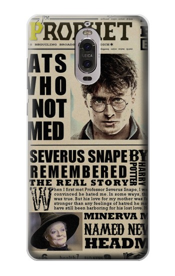 Printed Harry Potter Daily Prophet Huawei Ascend P6 Case