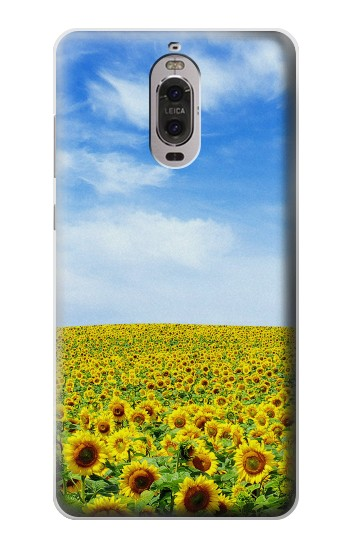 Printed Sunflower Huawei Ascend P6 Case