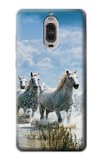 Printed White Horse 2 Huawei Ascend P6 Case