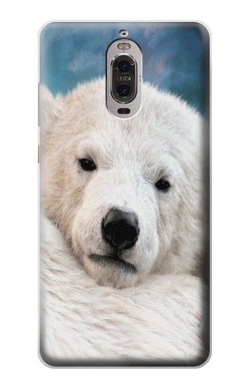 Printed Polar Bear Huawei Ascend P6 Case