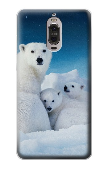 Printed Polar Bear Family Arctic Huawei Ascend P6 Case