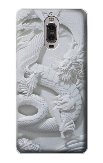 Printed Dragon Carving Huawei Ascend P6 Case