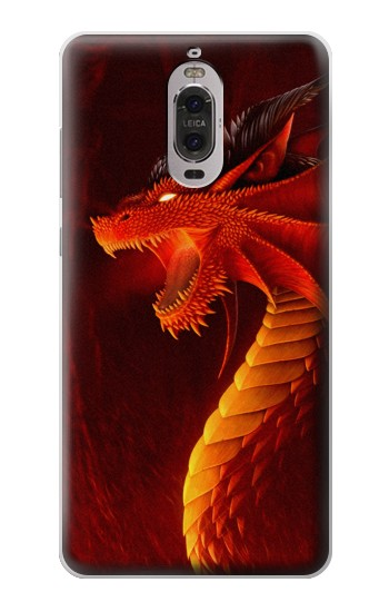 Printed Red Dragon Huawei Ascend P6 Case