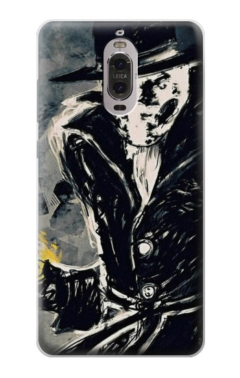 Printed Rorschach Watchmen Huawei Ascend P6 Case