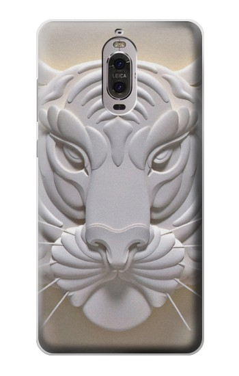 Printed Tiger Carving Huawei Ascend P6 Case
