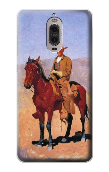 Printed Cowboy Western Huawei Ascend P6 Case