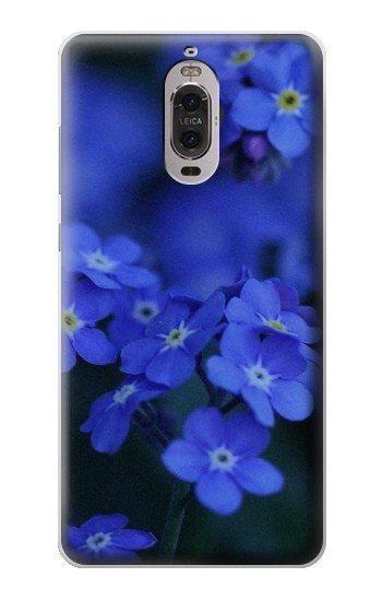 Printed Forget me not Huawei Ascend P6 Case