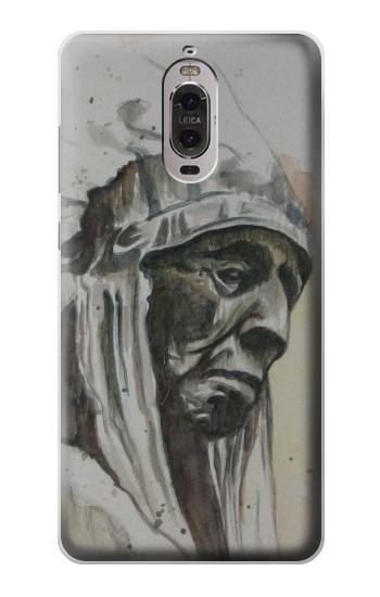Printed Indian Chief Huawei Ascend P6 Case