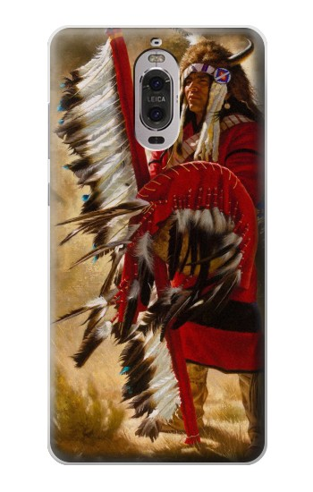 Printed Red Indian Huawei Ascend P6 Case