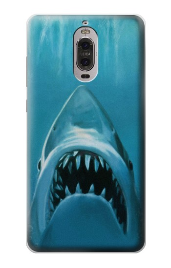 Printed White Shark Huawei Ascend P6 Case