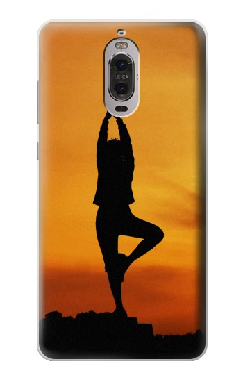 Printed Yoga Huawei Ascend P6 Case