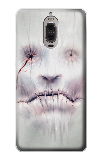 Printed Horror Face Huawei Ascend P6 Case