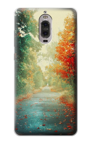 Printed Road Through The Woods Huawei Ascend P6 Case