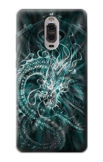 Printed Digital Chinese Dragon Huawei Ascend P6 Case