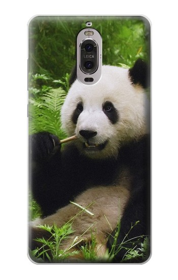 Printed Panda Enjoy Eating Huawei Ascend P6 Case