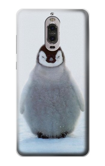 Printed Penguin Ice Huawei Ascend P6 Case