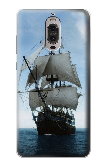 Printed Sailing Ship in an Ocean Huawei Ascend P6 Case