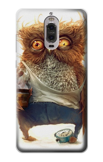 Printed Wake up Owl Huawei Ascend P6 Case