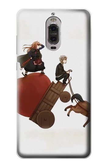 Printed Spice and Wolf Horo Lawrence Huawei Ascend P6 Case
