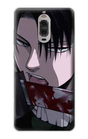 Printed Attack on Titan Rivaille Levi Huawei Ascend P6 Case