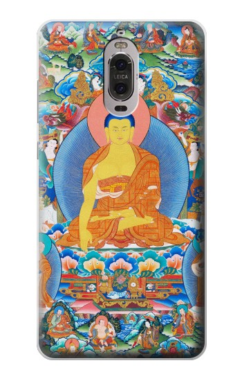 Printed Buddha Paint Huawei Ascend P6 Case