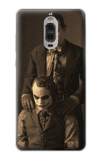 Printed Jokers Together Huawei Ascend P6 Case