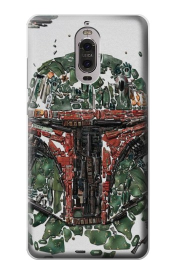 Printed Star War Soldier Huawei Ascend P6 Case