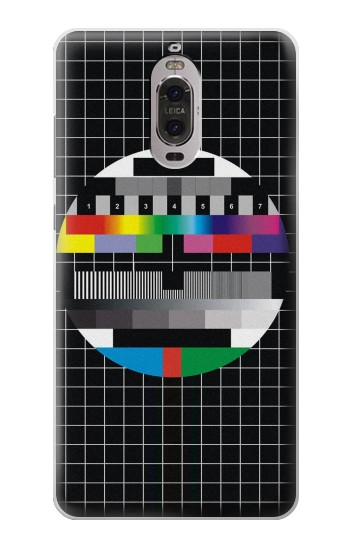 Printed No Signal Television Huawei Ascend P6 Case