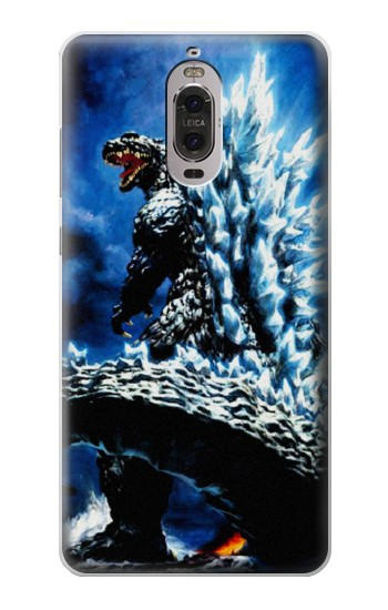 Printed Godzilla Giant Monster Huawei Ascend P6 Case
