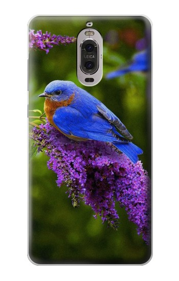 Printed Bluebird of Happiness Blue Bird Huawei Ascend P6 Case